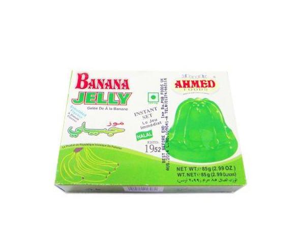 Ahmed Banana Jelly (Vegetarian) - 85g x 3