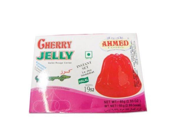 Ahmed Cherry Jelly (Vegetarian) - 85g x 3