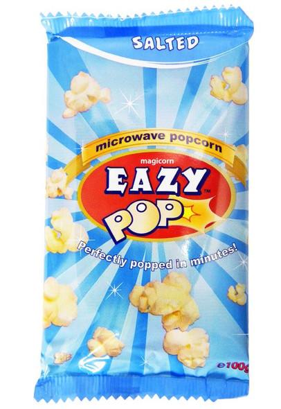 Eazy Pop - Salted Popcorn - 100g (Pack of 2)