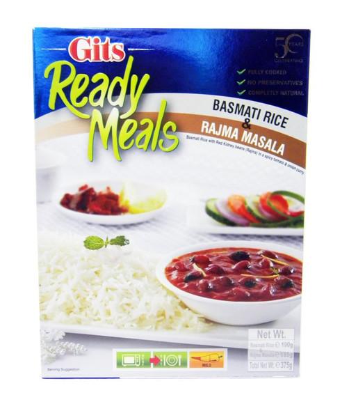 Gits - Ready Meals - Rajma Masala with Basmati Rice - 375g