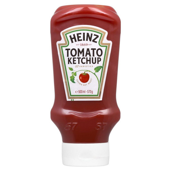 Heinz Tomato Ketchup Topdown - 570g
