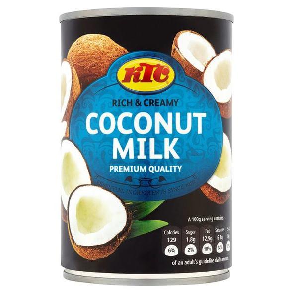 KTC Coconut Milk - 400ml (pack of 12)