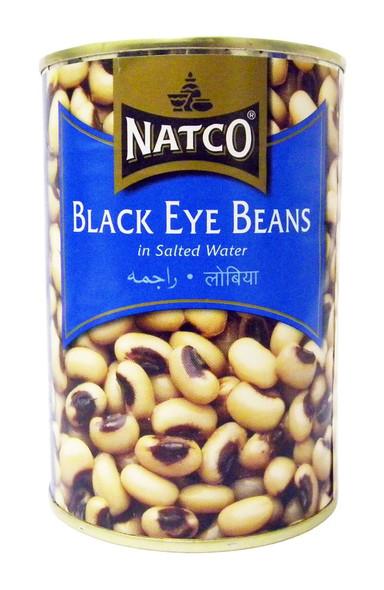 Natco - Black Eye Beans - 400g (pack of 2)