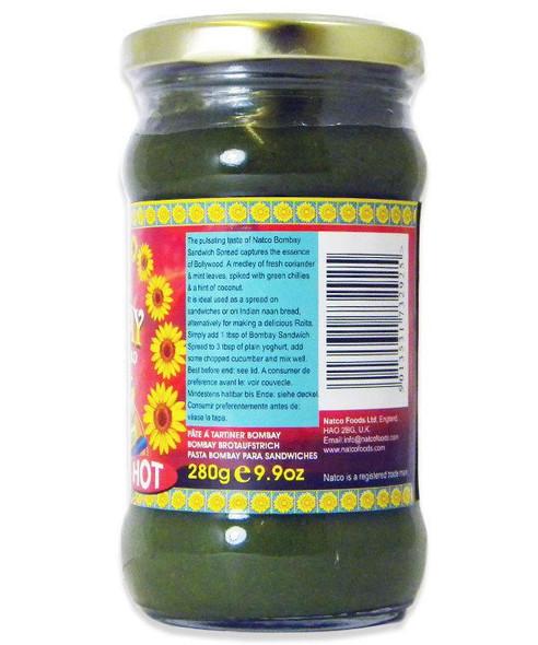 Natco - Bombay Sandwich Spread (hot) - 280g