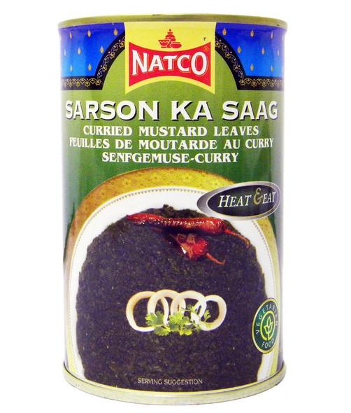 Natco - Sarson Ka Saag - 450g (pack of 2)