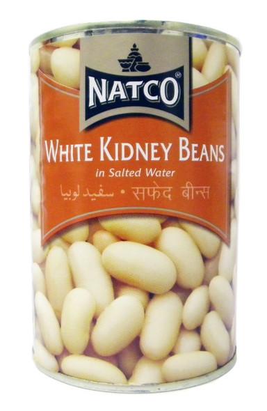Natco - White Kidney Beans - 400g (pack of 2)