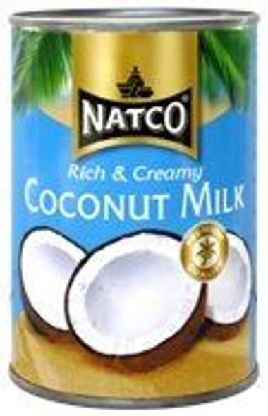 Natco Coconut Milk Tins (6 x 400ml)