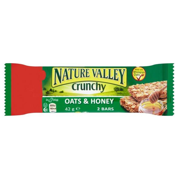 Nature Valley Oats & Honey Bar - 42g - Pack of 3 (42g x 3)