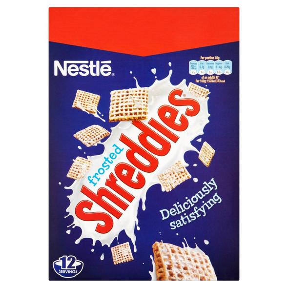 Nestle Frosted Shreddies - 500g - Single Pack (500g x 1 Box)
