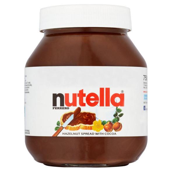 Nutella - Hazelnut Spread with Cocoa - 750g