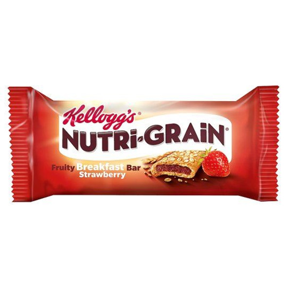 Nutri-Grain Strawberry Cereal Bar - 37g - Pack of 3 (37g x 3)