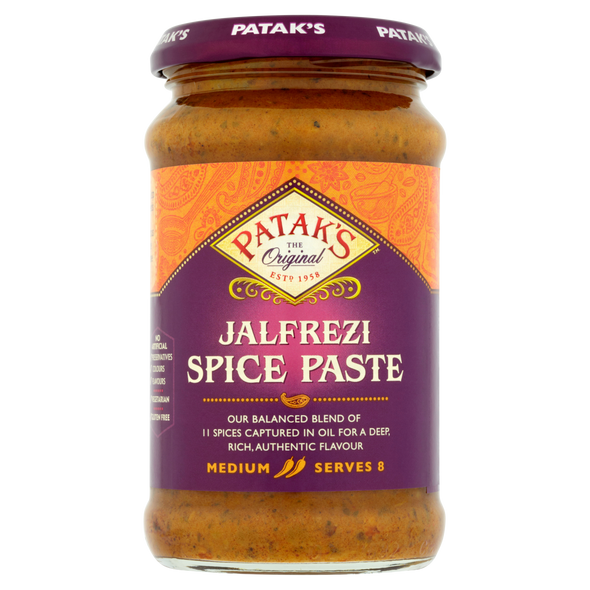 Patak's Jalfrezi Paste - 283g (pack of 2)
