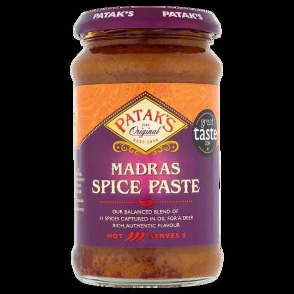 Patak's Madras Paste - 283g (pack of 2)