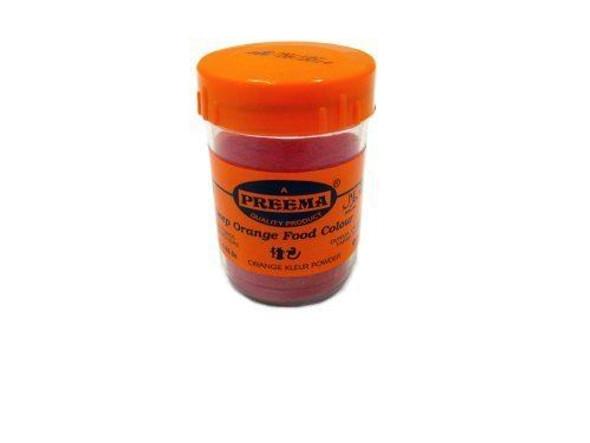 Preema Deep Orange Food Colour - 25g