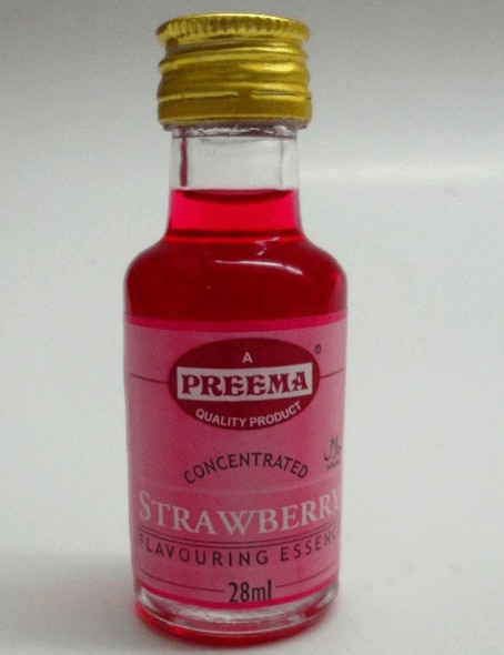 Preema Strawberry Flavouring Essence - 28ml