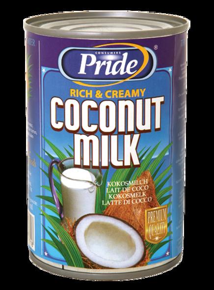 Pride Coconut Milk 400 ml (Pack of 12)
