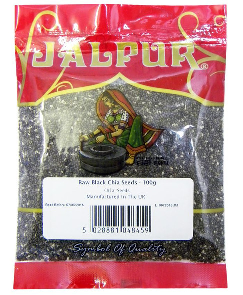 Jalpur Raw Black Chia Seeds - 100g