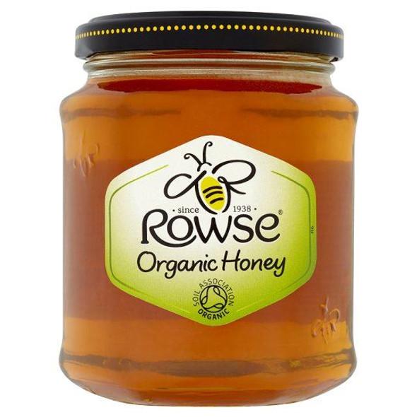 Rowse Organic Honey Clear - 340g