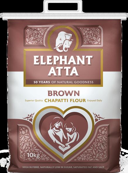 Elephant Atta Brown Chapatti Flour - 10kg