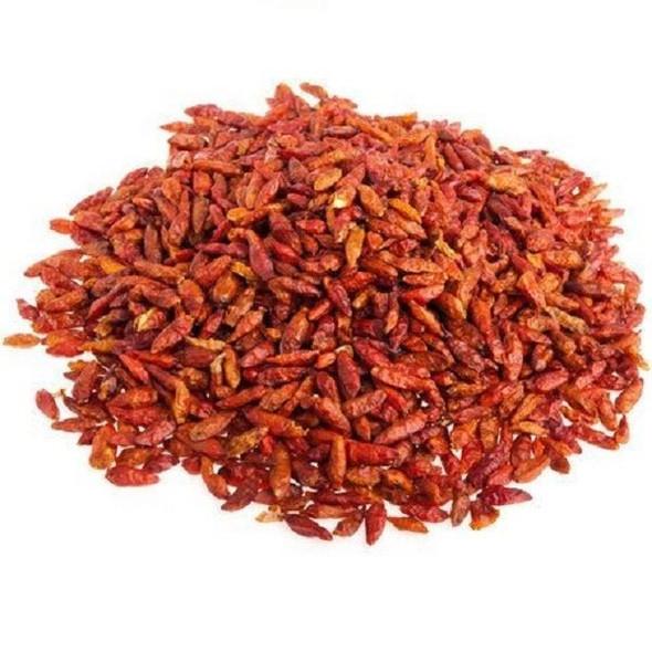 Jalpur Pure Whole Dried Birdseye Chillies - 50g
