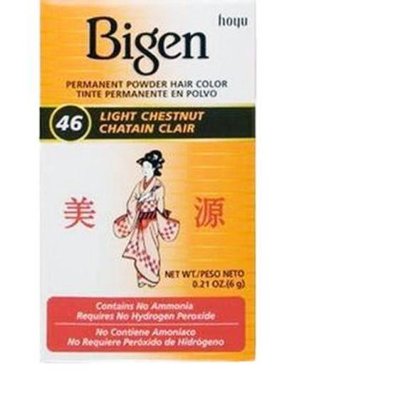 Bigen 46 - Light Chestnut (pack of 3)