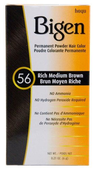 Bigen 56 - Rich Medium Brown (pack of 3)