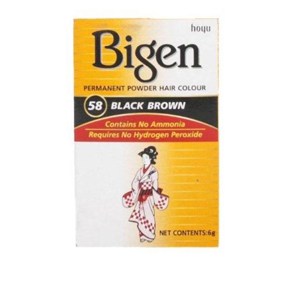 Bigen 58 - Black Brown (pack of 3)