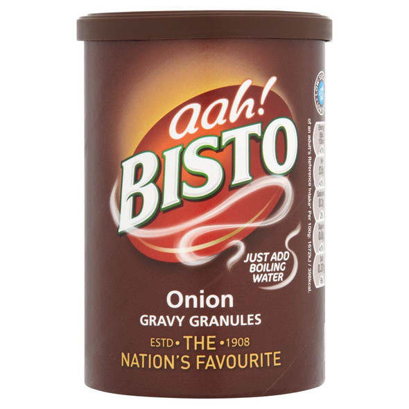 Bisto Gravy Granules Onion - 170g - Pack of 2 (170g x 2)