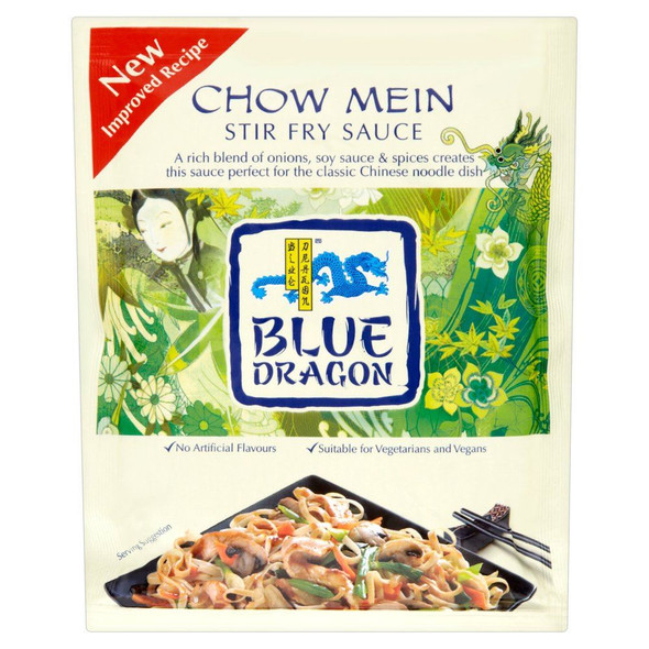 Blue Dragon Chow Mein Stir Fry Sauce - 120g - Pack of 6 (120g x 6)
