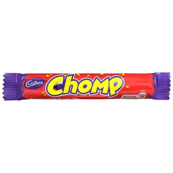 Cadburys Chomp Pack - 23.5g - Pack of 6 (23.5g x 6 Bars)