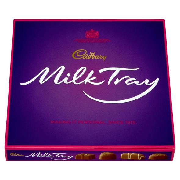 Cadburys Milk Tray - 180g - Pack of 2 (180g x 2 Boxes)