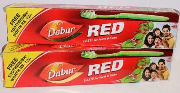 Dabur Red Toothpaste With free Toothbrush - 200ml