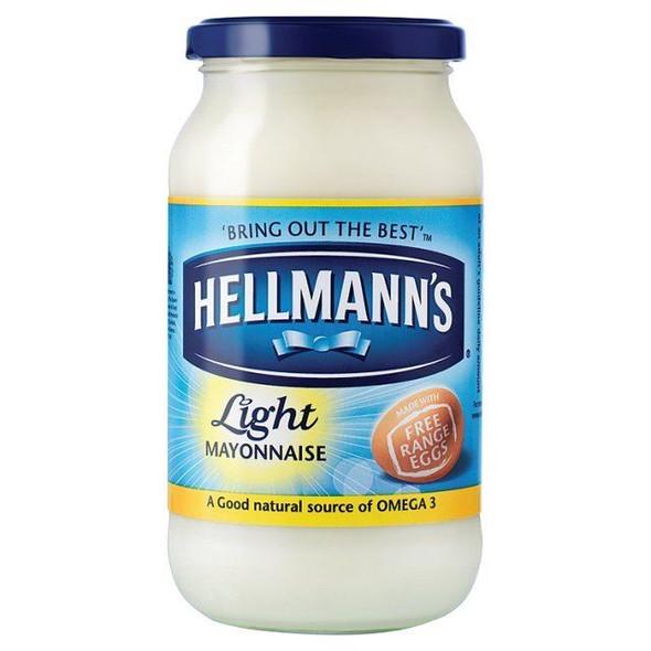 Hellmanns Light Mayonnaise - 400g - Pack of 2 (400g x 2)