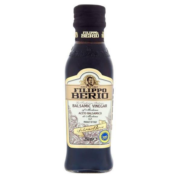 Filippo Berio Balsamic Vinegar - 250ml - Pack of 2 (250ml x 2)