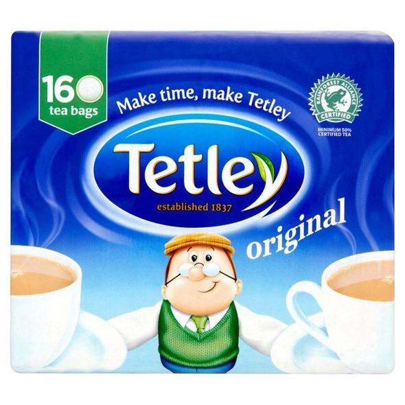 Tetley Original Tea Bags - 160's - Pack of 3 (160's x 3)