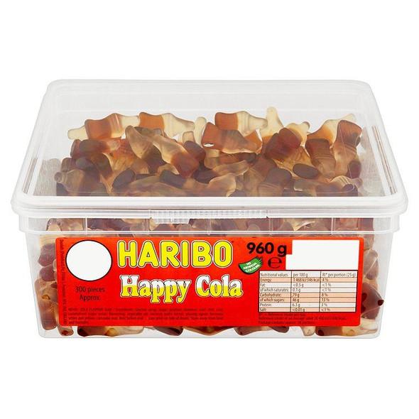 Haribo Happy Cola - 960g - Approx 300 Pieces