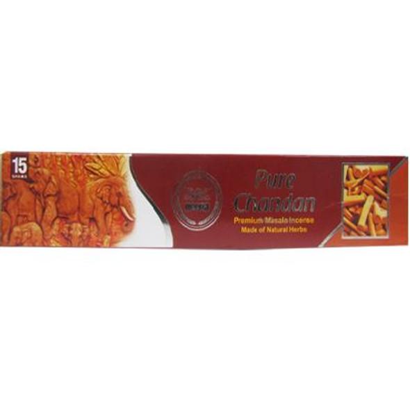 Heera - Pure Chandan - 15g each (Pack of 12)