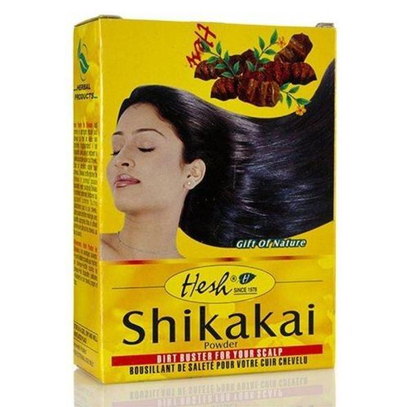 Hesh Shikakai Powder Pack of 4 100g x 4