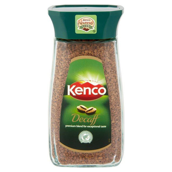Kenco Freeze Dried Decafinated Coffee - 100g - Pack of 4 (100g x 4)
