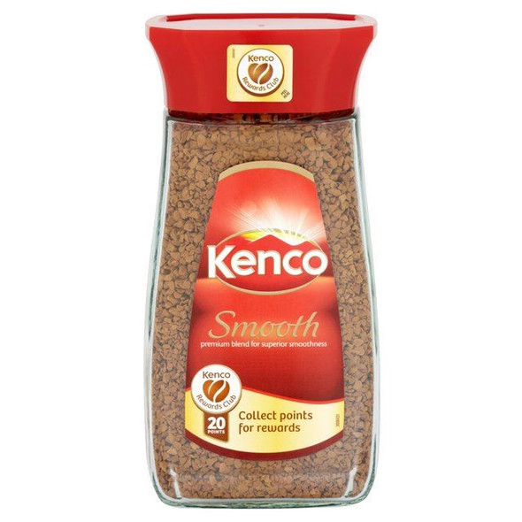 Kenco Freeze Dried Smooth Coffee - 100g - Pack of 4 (100g x 4)