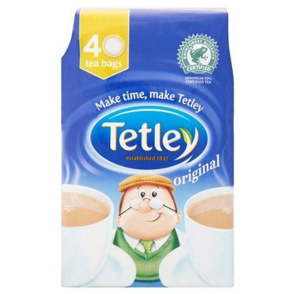 Tetley Original Tea Bags - 40's - Pack of 2 (40's x 2)