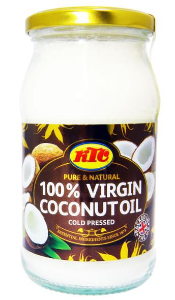 KTC - Pure 100% Virgin Coconut Oil - Cold Pressed - 500g x 2