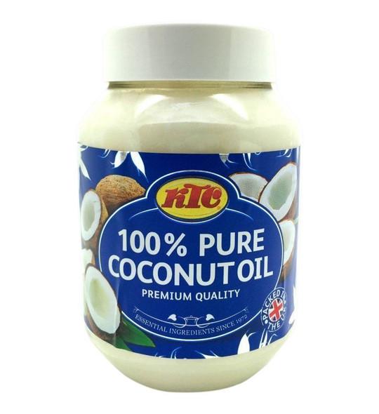 KTC 100% Pure Coconut Multipurpose Oil 500ml Jar x 12 Qty (pack of 12)