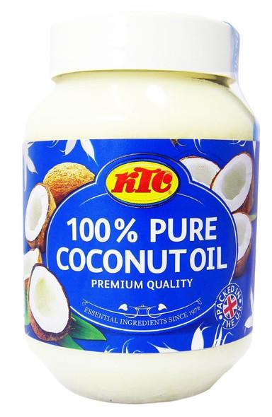 KTC 100% Pure Coconut Multipurpose Oil 500ml Jar x 6 Qty (pack of 6)