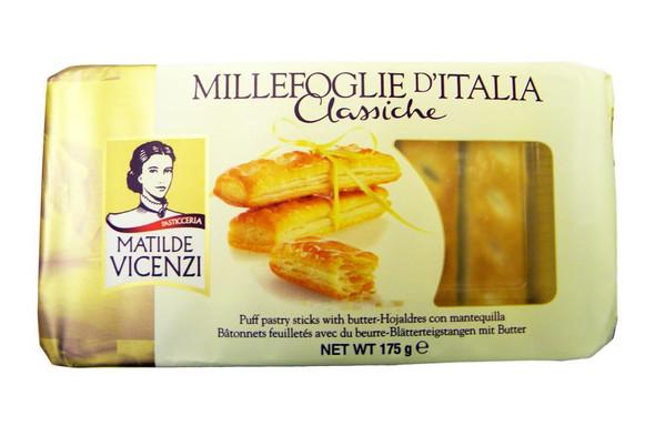 Matilde Vicenzi - Italian Puff Pastry Sticks - 175g (pack of 3)