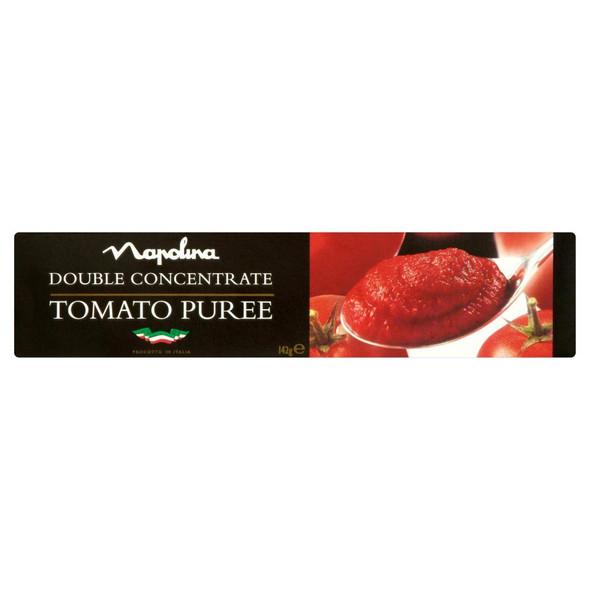 Napolina Tomato Puree Tube - 142g - Pack of 4 (142g x 4 Tubes)