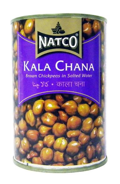 Natco - Kala Chana - 400g (pack of 4)