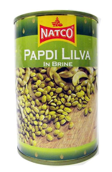 Natco - Papdi Lilva in Brine - 400g (pack of 4)