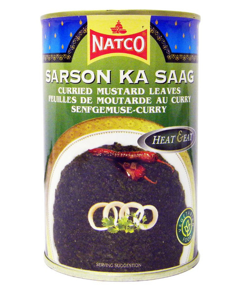 Natco - Sarson Ka Saag - 450g (pack of 4)