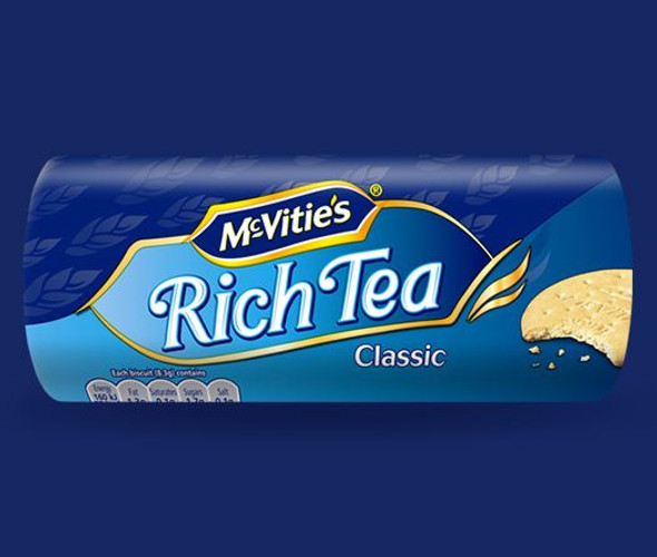 Mcvities Rich Tea - 200g - Pack of 2 (200g x 2)